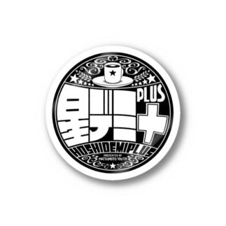 星デミ+ロゴステッカー Stickers