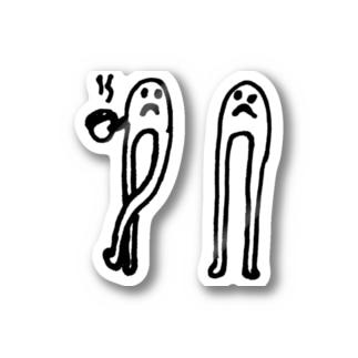コーヒーモンスタァ Stickers