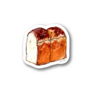 水彩イギリスパン Stickers