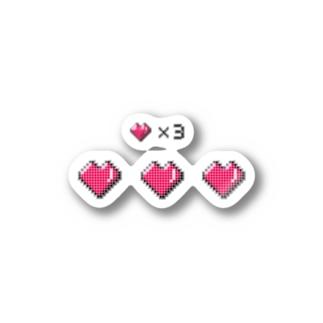 ♥️♥️♥️✖️3 Stickers
