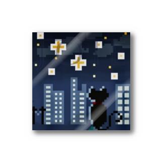 JOIE  「夜景猫」 Stickers