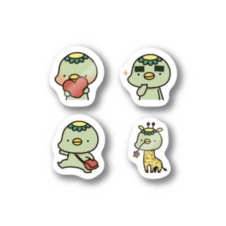 かっぱのステッカー② Stickers