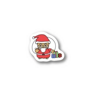 ぽちゃ丸サンタ Stickers