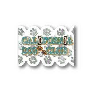 CALIFORNIA DOG CLUB Stickers