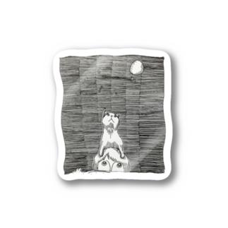 空見る猫 Stickers