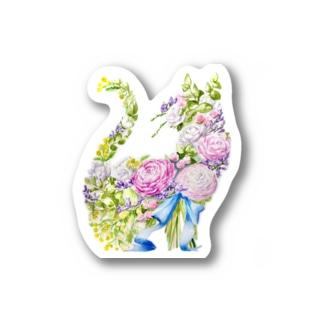 ラナンキュラスの花束 Stickers