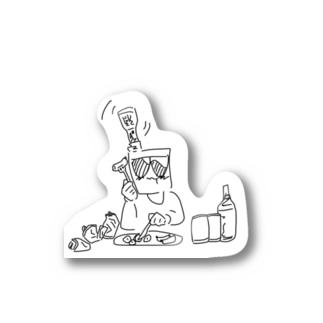 へべれけちゃん Stickers
