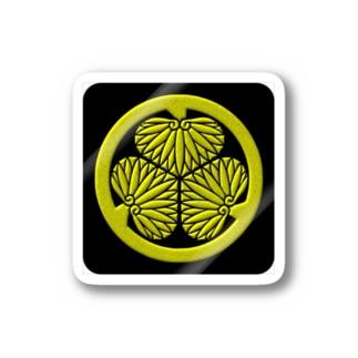 kamon 三つ葉葵 (徳川家) (ステッカー) Stickers