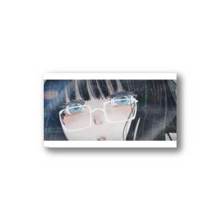 メガネっ娘 Stickers