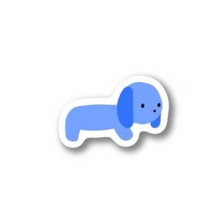 アオイーヌ Stickers