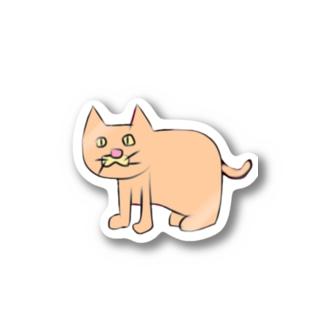 左向きの動物 Stickers