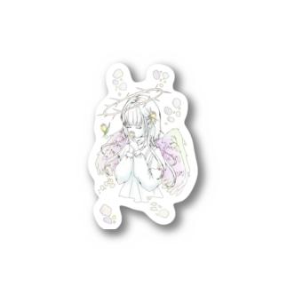 クロッカスの天使 Stickers