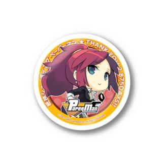 ペーパーマンメモリアルステッカー -リカ- Stickers