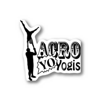 AcroYOyogis Stickers