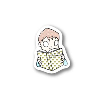 バリバリクエスチョンの読書 Stickers
