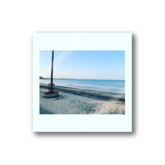 海岸のひととき Stickers