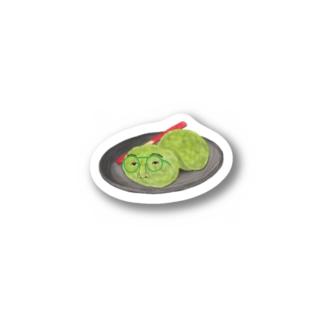 シロちゃん(ずんだ餅ver) Sticker