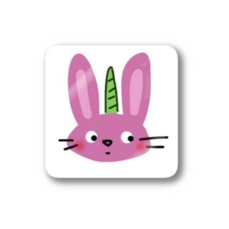 ふゆぷりんオリジナルグッズ(① うさぎにつの) Stickers