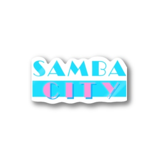 SAMBA CITY Stickers