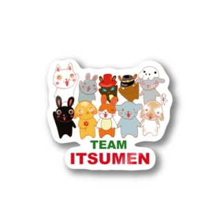 TEAM ITUMEN Stickers