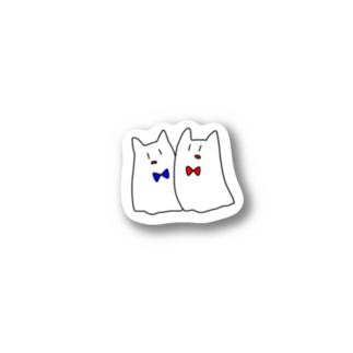 ねこおばけ Stickers