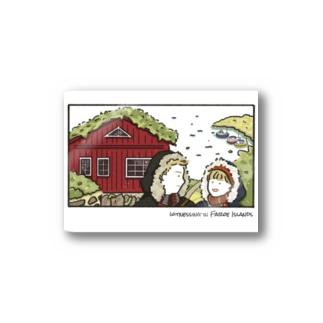 Faroe island Stickers