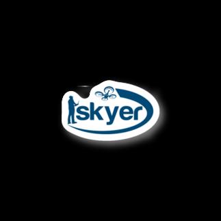 株式会社skyer ステッカー