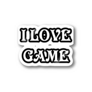 ゲーム好きです Stickers