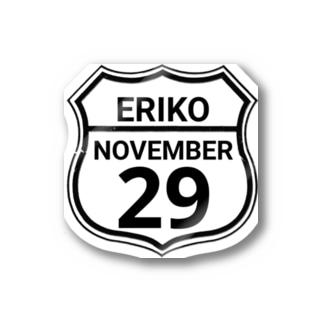 ERIKO 29 ステッカー Stickers