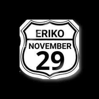 夢川えりこマートのERIKO 29 ステッカー Stickers