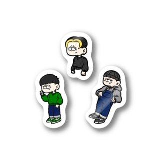 STICKER SET ( BOY ) Stickers