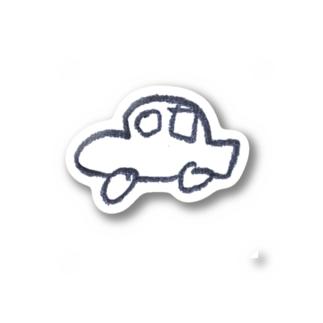 J4の車 Stickers