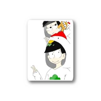 酉年の年中松さん Stickers