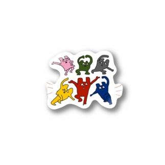 くまどんズステッカー Stickers