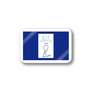 blueribbon Stickers
