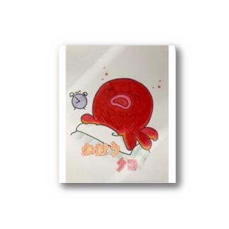 ねぼうたこ Stickers