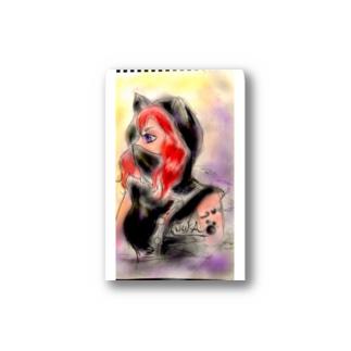 おリョウノート Stickers