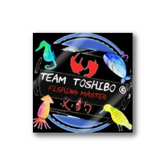 定番team toshiboロゴ Sticker