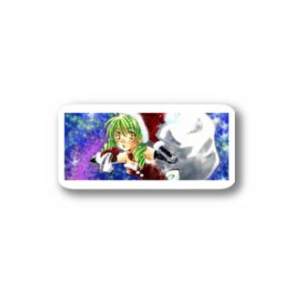 サンタガール Stickers