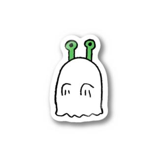 ミドリちゃん おばけステッカー Sticker