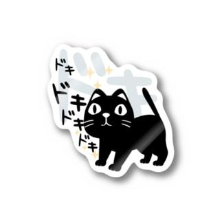 CT120 やみねこ、ろっぽのドキドキAs Stickers
