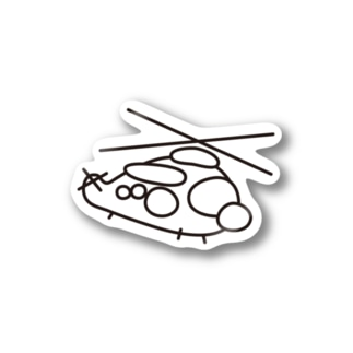 MycroMission@UH-60J【シール】 Stickers