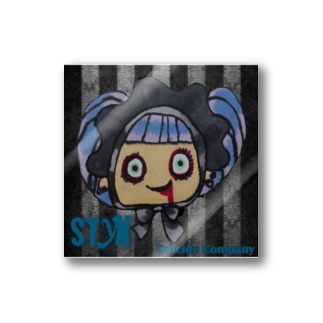 毒毒メアリーちゃんステッカー Stickers