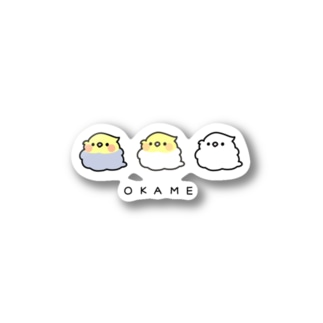 THE OKAME CHAN Stickers