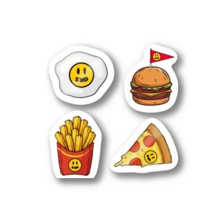 ジャンクフードパラダイス ~SXO's Lovin' it~ Stickers