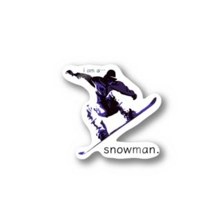 snowman. Stickers
