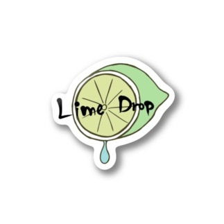 Lime Drop くりーむ Stickers