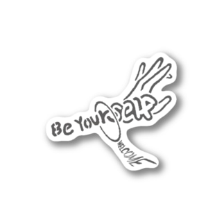 己を貫け Be Yourself Stickers
