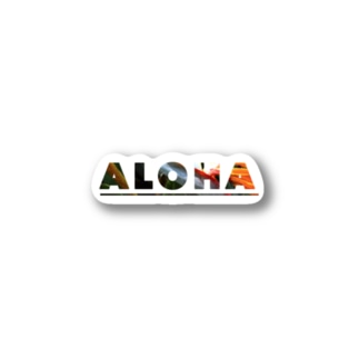 Aloha - Bird of Paradise (極楽鳥花) Stickers