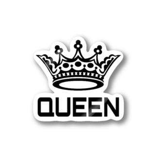 QUEEN オリジナルグッズ Stickers